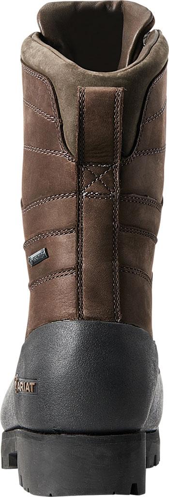 "Men's Ariat Linesman Ridge 10"" GTX Composite Toe Work Boot, Bitter Brown Full Grain Leather, large, image 3"