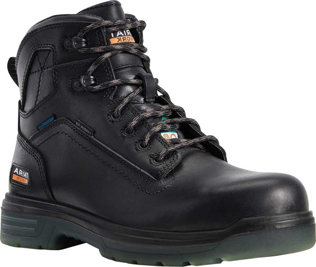 "Men's Ariat Turbo 6"" H2O CSA Carbon Toe Work Boot, , large, image 1"