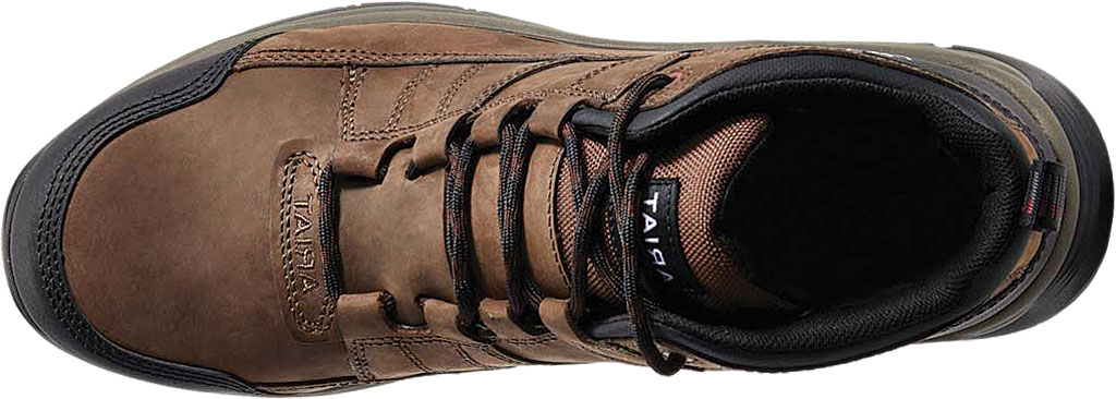 Men's Ariat Telluride H2O Composite Toe Work Boot, Distressed Brown Full Grain Leather, large, image 4