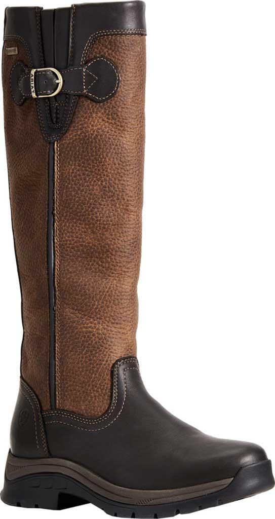 Women's Ariat Belford GTX Knee High Boot - Medium-Regular, Ebony Full Grain Leather, large, image 1