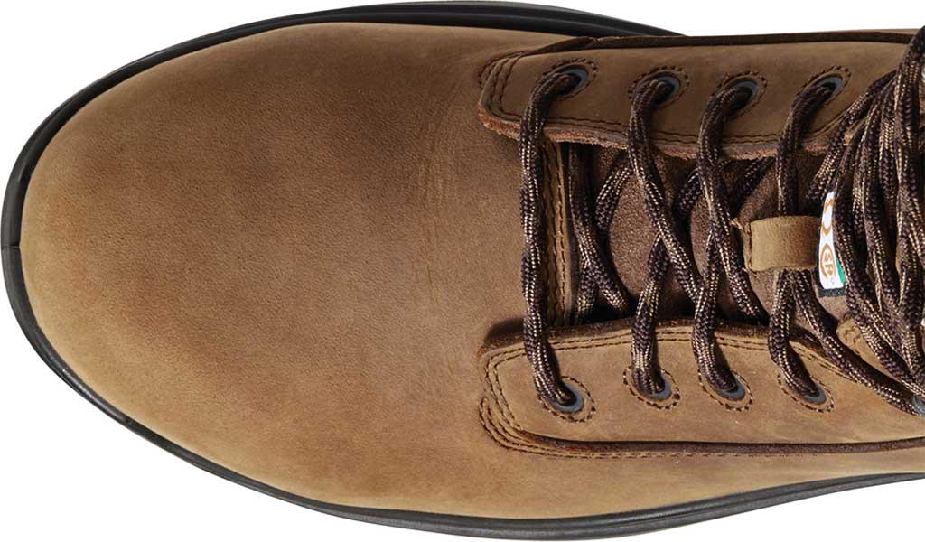 "Men's Ariat Turbo 8"" H2O CSA Carbon Toe Work Boot, Aged Bark Full Grain Leather, large, image 3"