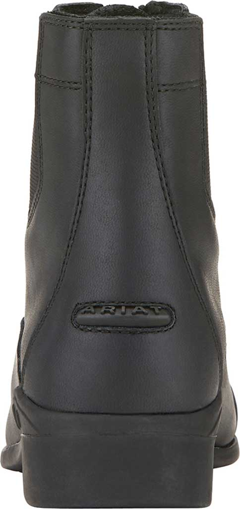 Children's Ariat Scout Zip Paddock Boot, Black Full Grain Leather, large, image 3