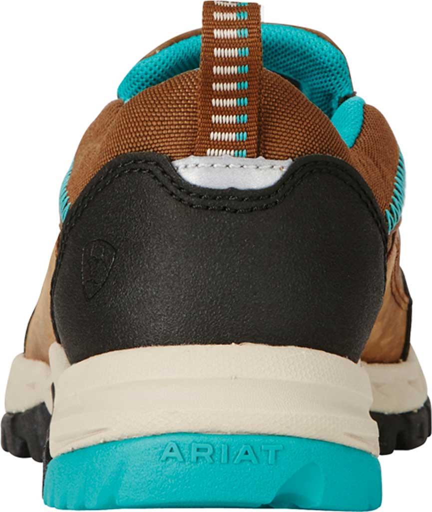 Women's Ariat Skyline Slip-On Work Shoe, Taupe Full Grain Leather, large, image 3
