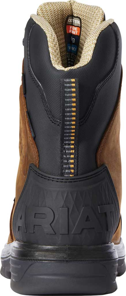 """Men's Ariat Turbo Outlaw 8"""" H2O 400g CSA Composite Toe Boot, Barley Brown Waterproof Full Grain Leather, large, image 3"""
