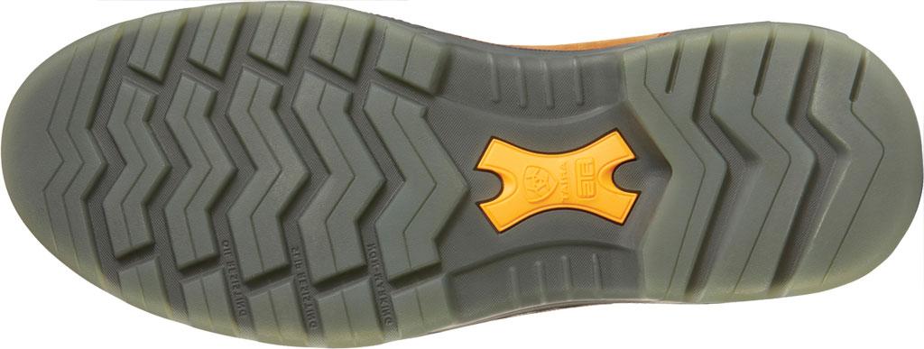 Men's Ariat Turbo Pull On H2O Soft Toe Work Boot, Aged Bark Waterproof Full Grain Leather, large, image 5