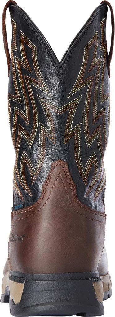 Men's Ariat Rebar Flex Western H2O Composite Toe Boot, Dark Brown/Black Waterproof Full Grain Leather, large, image 3