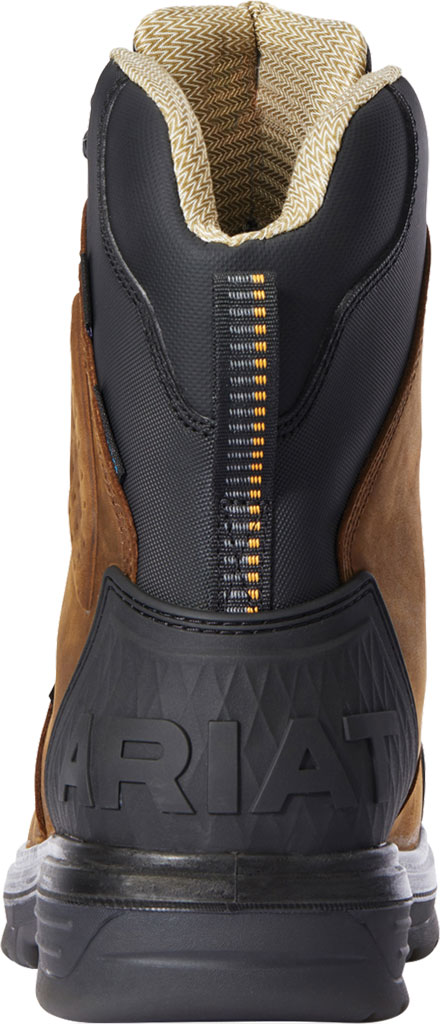 """Men's Ariat Turbo Outlaw 8"""" H2O 400g CSA Carbon Toe Boot, Barley Brown Waterproof Full Grain Leather, large, image 3"""