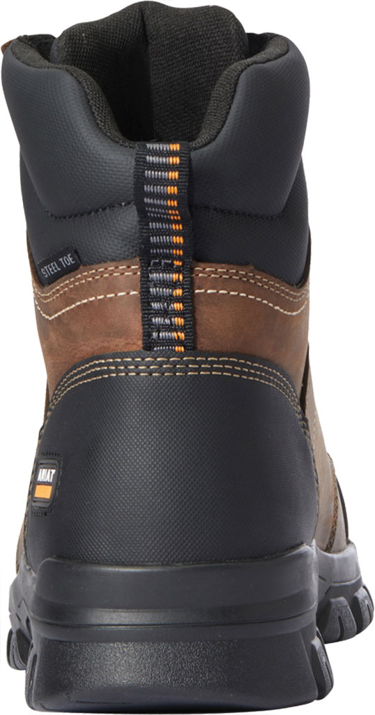"""Men's Ariat Treadfast 6"""" Work Boot, Distressed Brown Leather, large, image 3"""