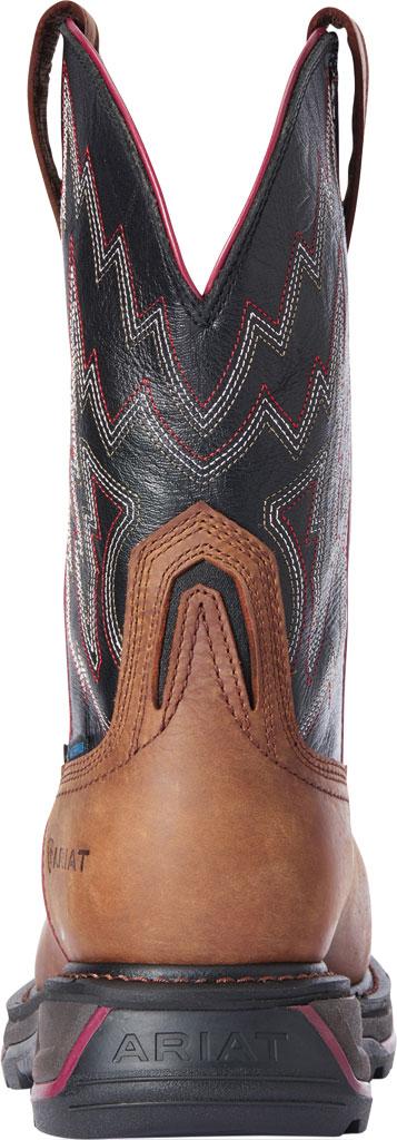 Men's Ariat Big Rig H2O Composite Toe Work Boot, Mesa Brown/Black Waterproof Full Grain Leather, large, image 3