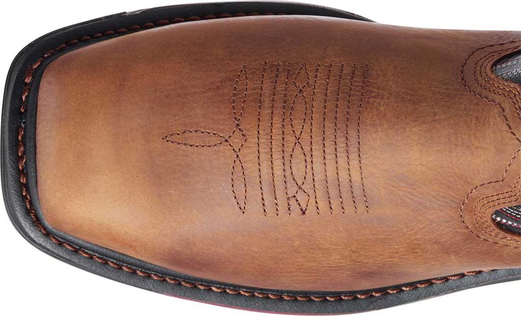 Men's Ariat Big Rig H2O Composite Toe Work Boot, Mesa Brown/Black Waterproof Full Grain Leather, large, image 4