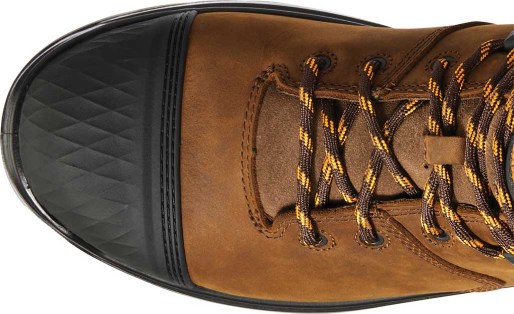 """Men's Ariat Turbo Outlaw 6"""" H2O Soft Toe Work Boot, Barley Brown Waterproof Full Grain Leather, large, image 4"""