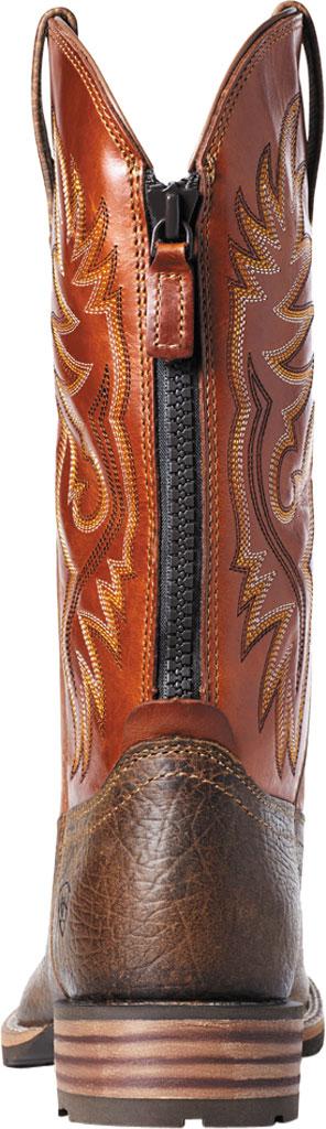 Men's Ariat Hybrid Big Cowboy Boot, Earth/Orange Full Grain Leather, large, image 3