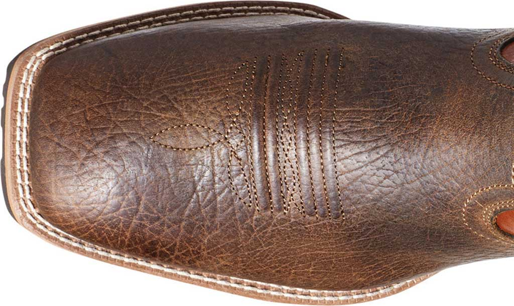 Men's Ariat Hybrid Big Cowboy Boot, Earth/Orange Full Grain Leather, large, image 4