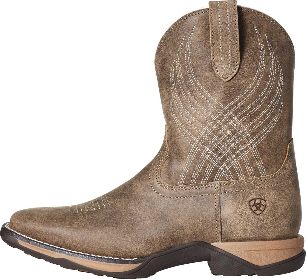 Children's Ariat Anthem Riding Boot, Brown Bomber Full Grain Leather, large, image 2