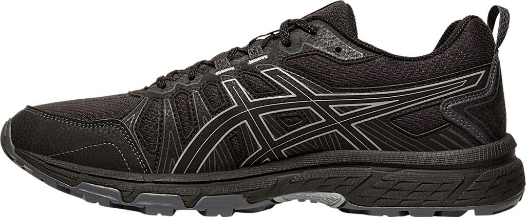 Men's ASICS GEL-Venture 7 Trail Running Shoe, Black/Sheet Rock, large, image 3