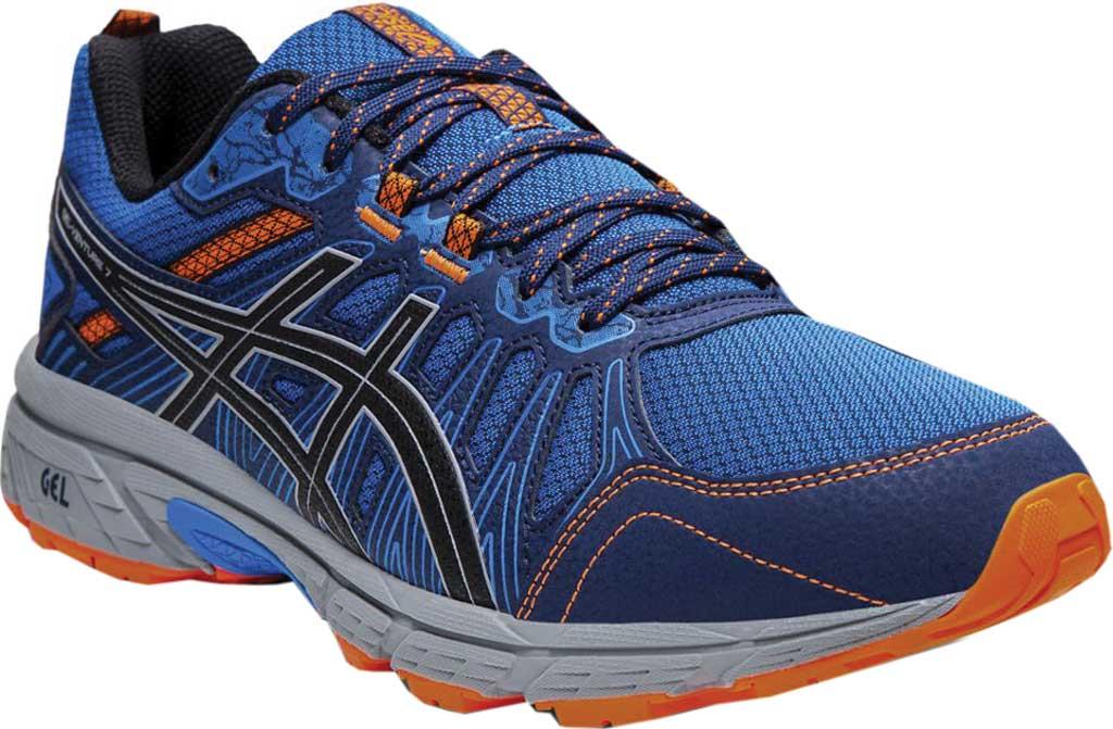 Men's ASICS GEL-Venture 7 Trail Running Shoe, Electric Blue/Sheet Rock, large, image 1