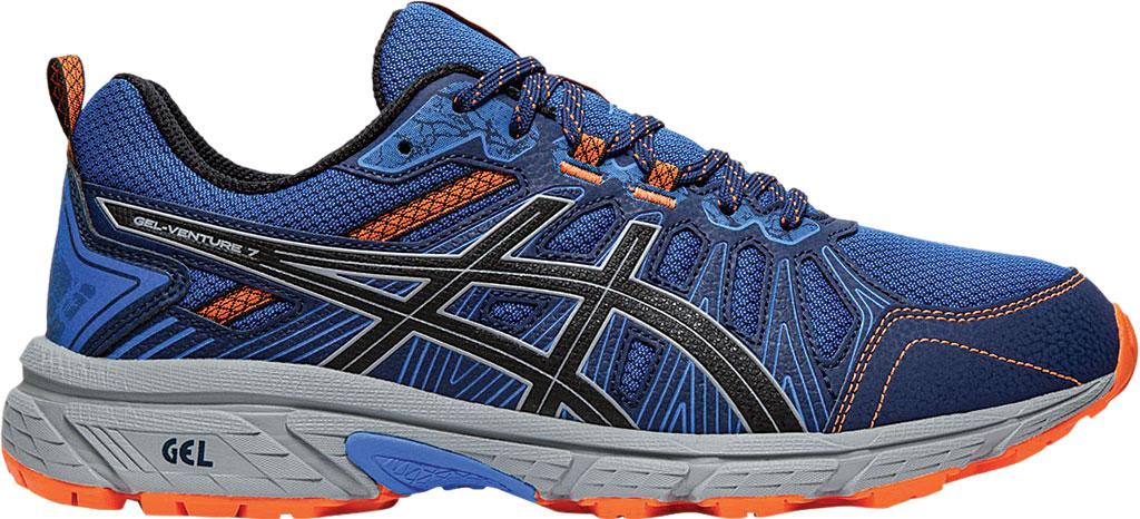 Men's ASICS GEL-Venture 7 Trail Running Shoe, Electric Blue/Sheet Rock, large, image 2