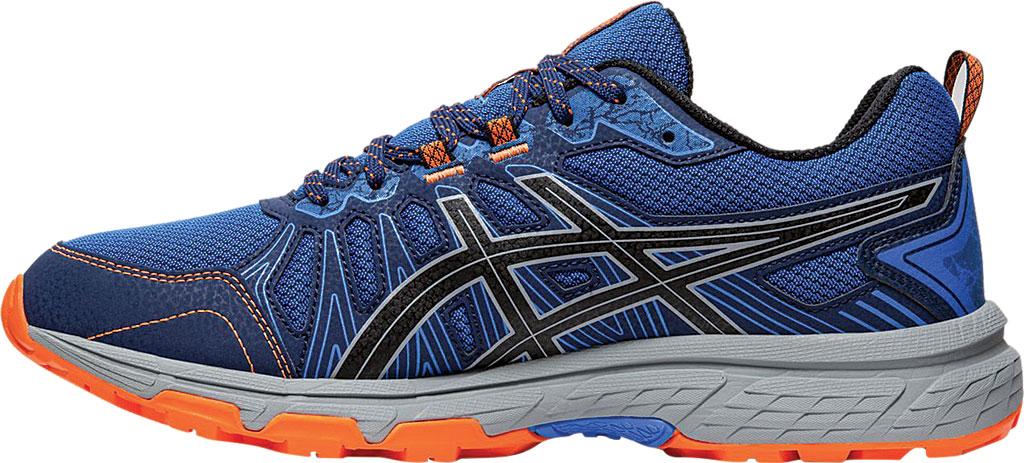 Men's ASICS GEL-Venture 7 Trail Running Shoe, Electric Blue/Sheet Rock, large, image 3