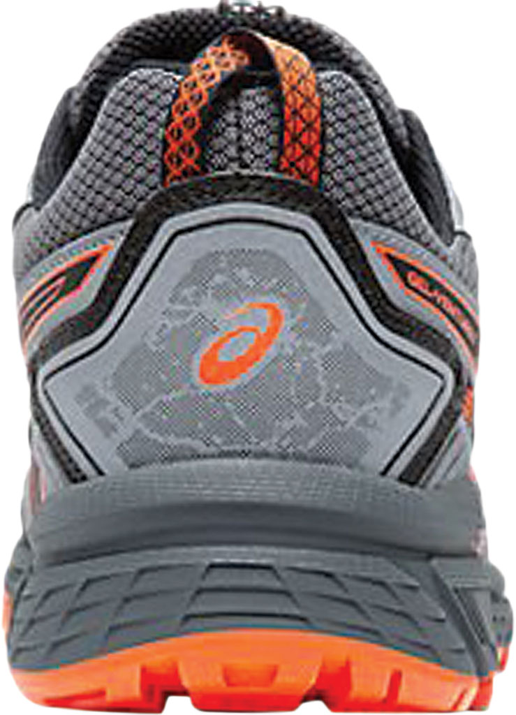 Men's ASICS GEL-Venture 7 Trail Running Shoe, Carrier Grey/Habanero, large, image 3