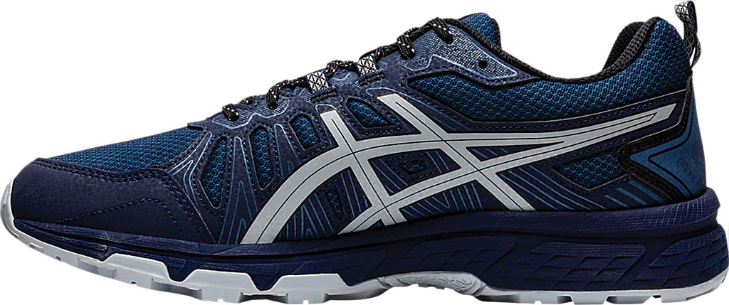 Men's ASICS GEL-Venture 7 Trail Running Shoe, Peacoat/Piedmont Grey, large, image 3