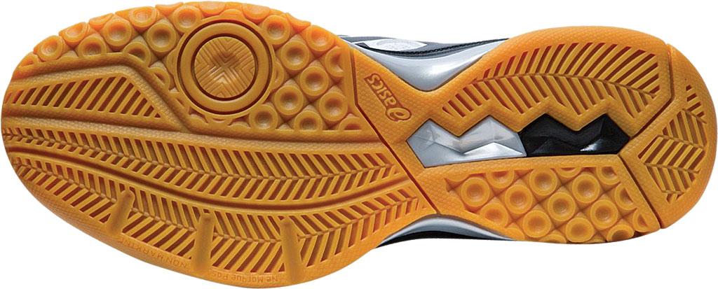 Women's ASICS GEL-Rocket 9 Indoor Sport Shoe, White/Black, large, image 6