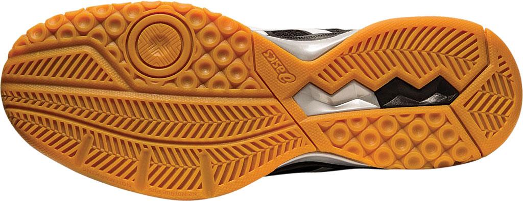 Men's ASICS GEL-Rocket 9 Indoor Sport Shoe, Black/White, large, image 6