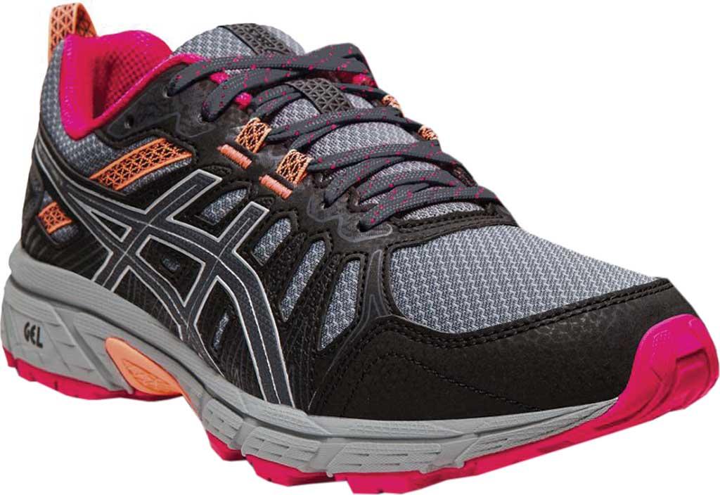 Women's ASICS GEL-Venture 7 Trail Running Shoe, Carrier Grey/Silver, large, image 1
