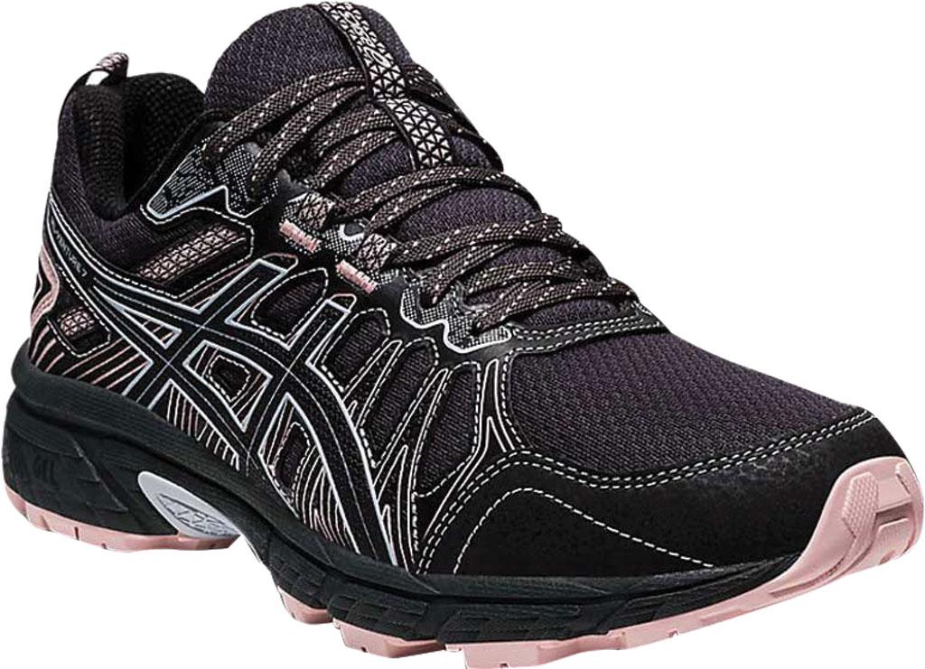 Women's ASICS GEL-Venture 7 Trail Running Shoe, Graphite Grey/Black, large, image 1