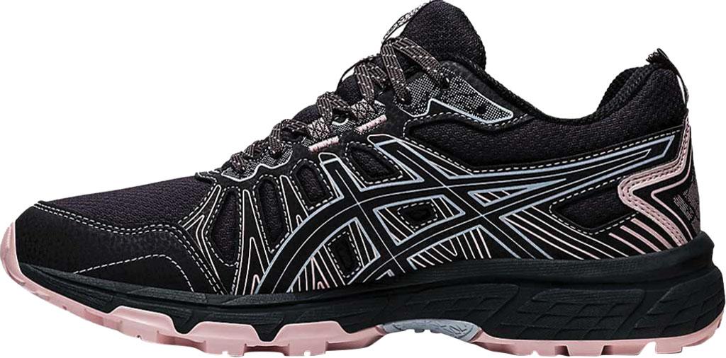 Women's ASICS GEL-Venture 7 Trail Running Shoe, Graphite Grey/Black, large, image 3