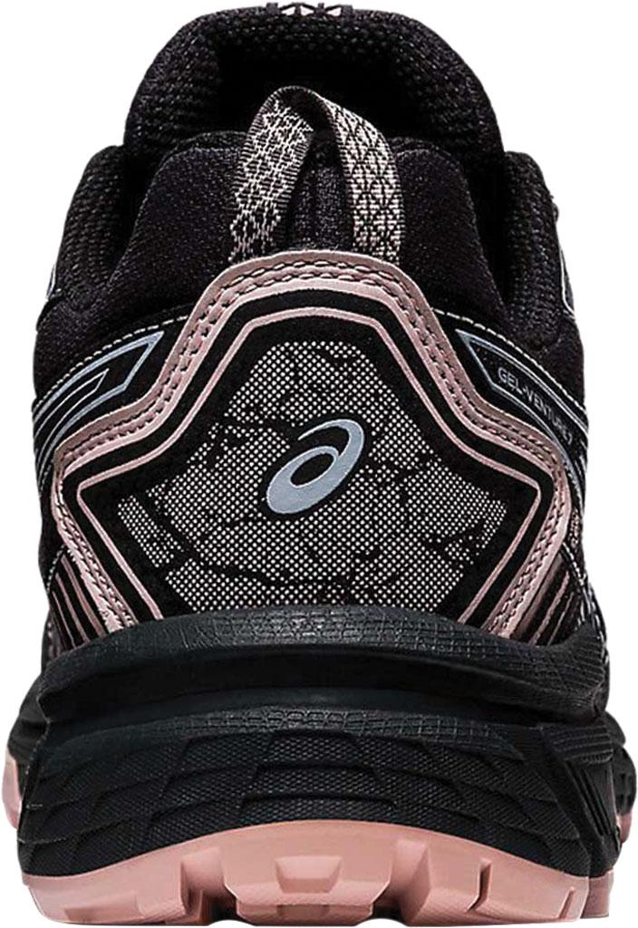 Women's ASICS GEL-Venture 7 Trail Running Shoe, Graphite Grey/Black, large, image 4