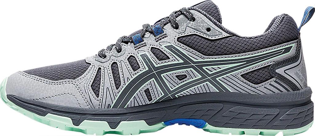 Women's ASICS GEL-Venture 7 Trail Running Shoe, Sheet Rock/Ice Mint, large, image 3