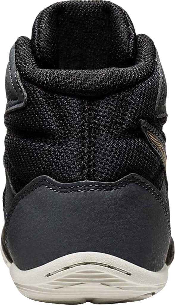 Children's ASICS Matflex 6 GS Wrestling Shoe, Black/Champagne, large, image 3