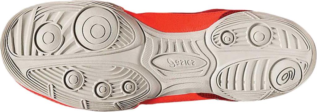Men's ASICS Matflex 6 Wrestling Shoe, Classic Red/Flash Coral, large, image 5