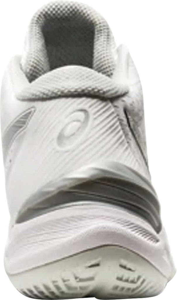 Women's ASICS Sky Elite FF MT Volleyball Shoe, White/Pure Silver, large, image 3