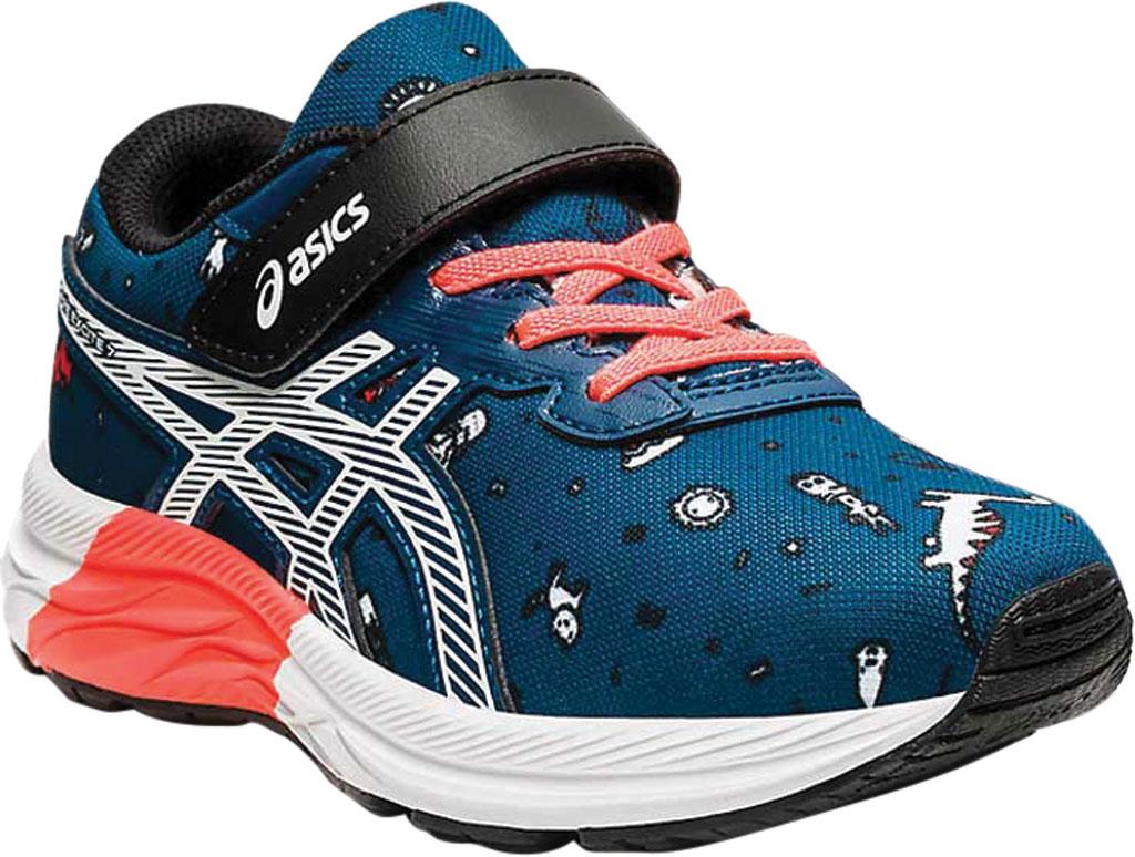 Children's ASICS Pre Excite 7 PS Running Sneaker, Mako Blue/White, large, image 1