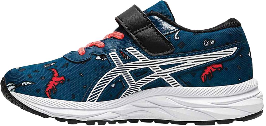 Children's ASICS Pre Excite 7 PS Running Sneaker, Mako Blue/White, large, image 3