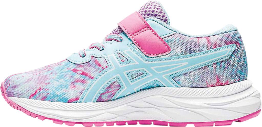 Children's ASICS Pre Excite 7 PS Running Sneaker, Ocean Decay/Dragon Fruit Multi, large, image 2