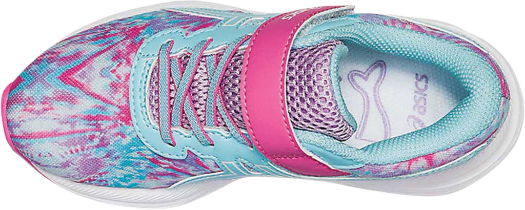 Children's ASICS Pre Excite 7 PS Running Sneaker, Ocean Decay/Dragon Fruit Multi, large, image 4