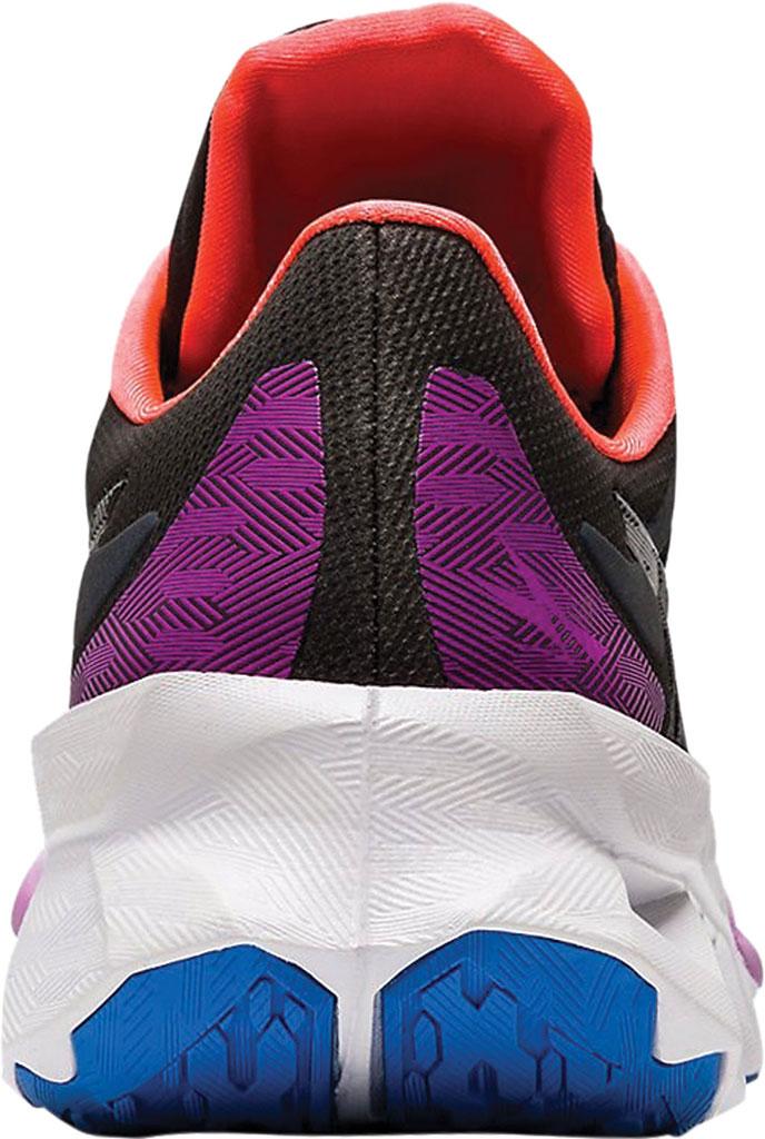 Women's ASICS Novablast Running Sneaker, Black/Black, large, image 4