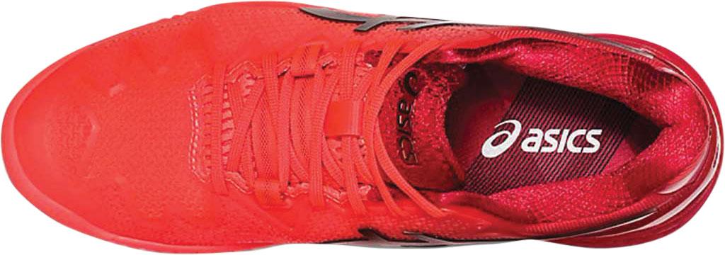 Women's ASICS GEL-Resolution 8 Tennis Shoe, Sunrise Red/Eclipse Black/Tokyo, large, image 4