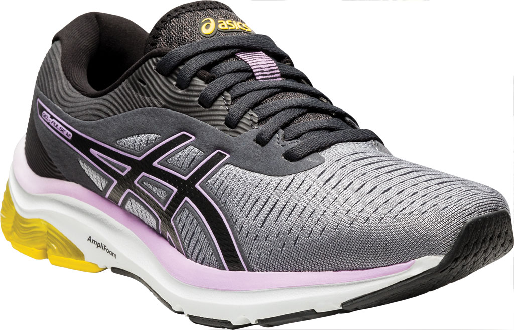 Women's ASICS GEL-Pulse 12 Running Sneaker, Sheet Rock/Graphite Grey, large, image 1