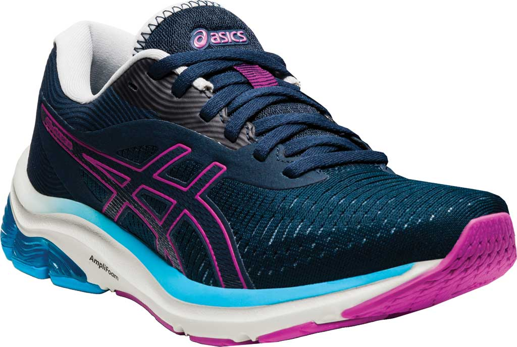 Women's ASICS GEL-Pulse 12 Running Sneaker, French Blue/Digital Grape, large, image 1