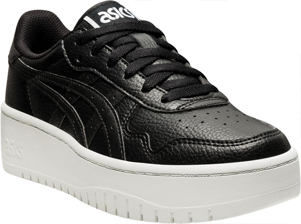 Women's ASICS Japan S PF Basketball Shoe, Black/Black, large, image 1