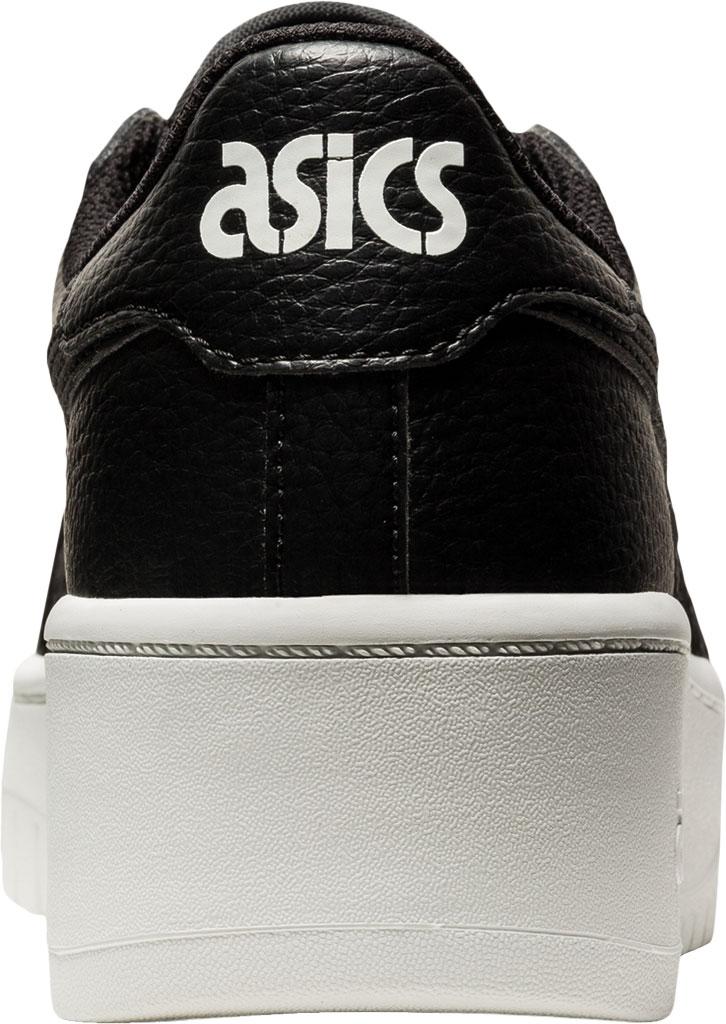 Women's ASICS Japan S PF Basketball Shoe, Black/Black, large, image 4