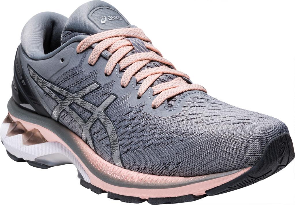 Women's ASICS GEL-Kayano 27 Running Sneaker, Sheet Rock/Pure Silver, large, image 1
