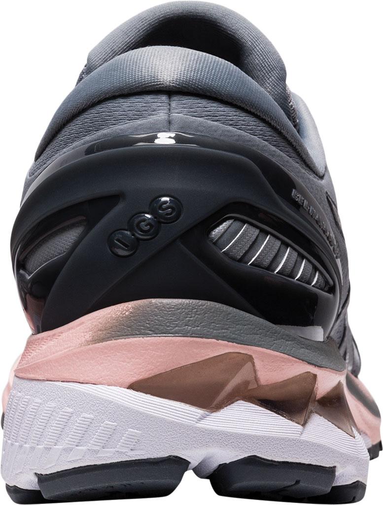 Women's ASICS GEL-Kayano 27 Running Sneaker, Sheet Rock/Pure Silver, large, image 4