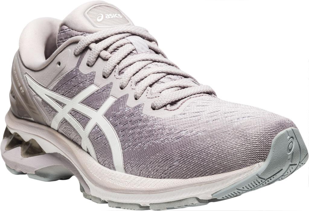 Women's ASICS GEL-Kayano 27 Running Sneaker, Haze/White, large, image 1