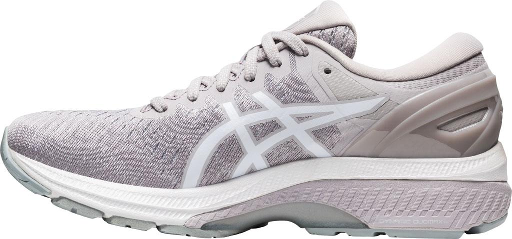 Women's ASICS GEL-Kayano 27 Running Sneaker, Haze/White, large, image 3