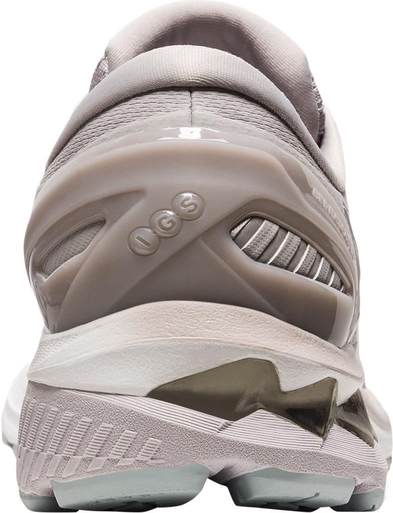Women's ASICS GEL-Kayano 27 Running Sneaker, Haze/White, large, image 4