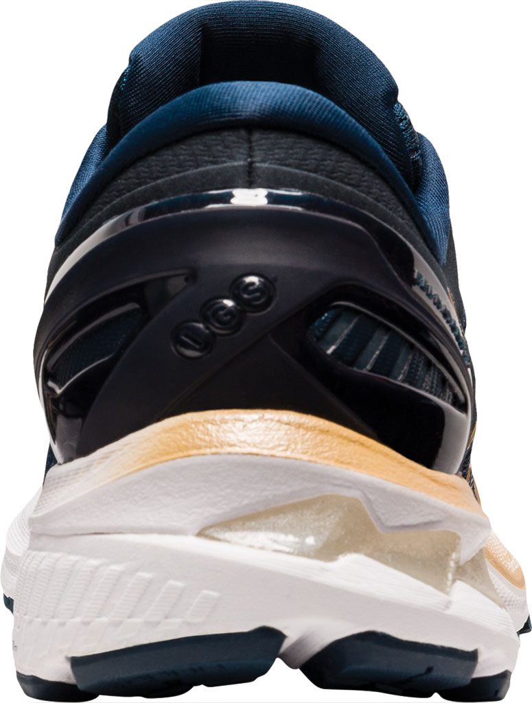 Women's ASICS GEL-Kayano 27 Running Sneaker, French Blue/Champagne, large, image 4